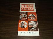 October 1963 Illinois Central Railroad System Public Timetables