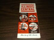 October 1962 Illinois Central Railroad System Public Timetables