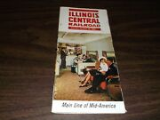 October 1964 Illinois Central Railroad System Public Timetables