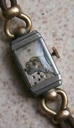 Rolex Lady Wristwatch Movement And Steel Case 22,5 Mm. X 13 Mm. Aside Ref. 2755