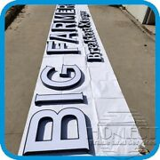 20in Channel Letter Shop Sign With Led Include Power Supplycustom Made