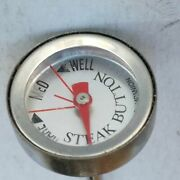Charcoal Companion Meat Thermometer Steak Button Rare Medium Well