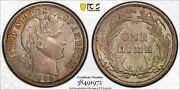 1908 Pcgs Ms64 Fs-301 Repunched Date Rpd Barber Dime