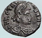 Vandals King Thrasamund Authentic Ancient Silver Roman Style Coin Ngc I85050