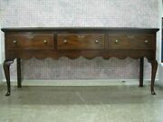 Kittinger Colonial Williamsburg Mahogany Queen Anne Low Sideboard Mint Cw148
