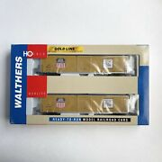 Walthers Ho Scale Gold Line - Union Pacific 2-pack - Pullman 60' Auto Box Car