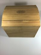 Wooden Box Of 30 Glass Christmas Tree Ornaments Museum Of Thomas Pacconi Series