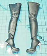 Hot Toys 16 Mms188 The Dark Knight Risesselina Kyle/catwoman - High Heel Boots
