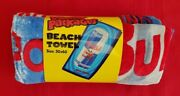 Wacky Packages Vintage Towel New Condition @@ Dead Bull @@