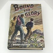 Woody Guthrie Bound For Glory 1943 1st Edition Excellent Condition