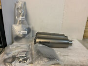 New Indian High Mount Slip-on Exhaust By Akrapovic 2883519