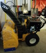 Cub Cadet 3x 26 Three Stage Snow Blower, Yellow Color, Excellent Condition