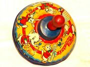 Chad Valley Let's Make Music Vintage Spinner Spinning Top Children´s Toy 1950s