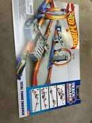 Track Vehicle Playsets Builder Total Turbo Takeover Set Hot Wheels Toy Return