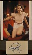 Jodie Foster Signed Index Card