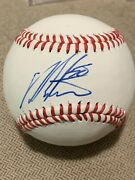 Dellin Betances New York Mets Autographed Trump Babe Ruth Baseball