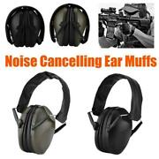 Foldable Noise Cancelling Ear Muffs Shooting Hearing Protection Earphone Headset