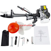 Best Quality 3.6hp Outboard Motor 4 Stroke Boat Motors 55 Cc Air Cooled System