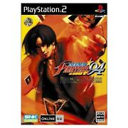 Used Ps2 The King Of Fighters And03994 Re-bout Japan Import