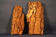 N Ho S O Scale Dried Bark For Train Layouts, Dioramas, School Projects Lot 7