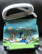 2020 Disney Parks Dooney And Bourke Mickey Mouse Donald Daisy Skyliner In Stock