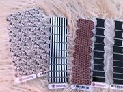 Jamberry Nail Wraps, As Is, Lot 13 Black Copper