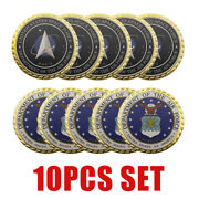 10pcs Set United States Space Force/command Air Force Challenge Coin