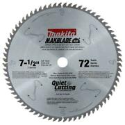 Makita 7-1/2 In. X 5/8 In. 72-teeth Carbide-tipped Miter Saw Blade