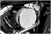 Derby Sucker Air Filter Kit Without Cover Black Backing Plate Arlen Ness 18-386