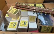 Sherman Solid Brass Hose Clamps Nos Oem Collection Antiques 400+ Lot