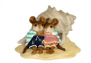 Wee Forest Folk Shell-tering Together, Wff M-689, Beach Mouse New 2020