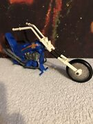 Vintage Ideal Toys Evel Knievel Chopper 1970's Motorcycle Very Rare