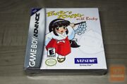 Pocky And Rocky With Becky Game Boy Advance Gba Factory Sealed - Ultra Rare
