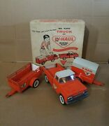 Nylint U-haul Truck And Rental Fleet No. 4300 All Original Made In Usa With Box