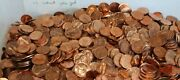 4061 Coin Lot 1973 P Lincoln Memorial Uncirculated Pennies As Seen Loose Coins