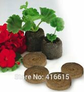 50pcs 25mm Jiffy Peat And Coco Pellets Seed Starting Plugs Seeds Starter Supplies
