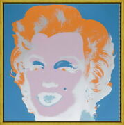 Framed Andy Warhol Marilyn Monroe1 Giclee Canvas Print Paintings Poster