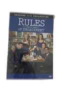 Rules Of Engagement Tv Series Complete Seasons 1 - 4 Collection New Dvd 1 2 3 4