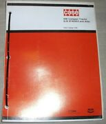 Case 446 Compact Tractor Parts Manual Book Catalog S/n 9742953 And After