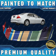 New Painted To Match - Rear Bumper Cover For 2010 2011 2012 Ford Fusion 10 11 12