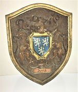 Ford Shield Coat Of Arms Plastic Wall Hanging 10x8 Heraldry Emblem Genealogy