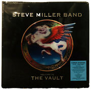 •steve Miller Band • Welcome To The Vault • Sealed 3 Cd + Dvd Box And Book Set