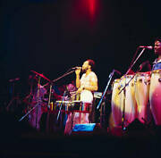 Maurice White Of Earth Wind And Fire At The Hammersmith 1975 Old Music Photo