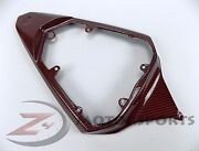 Discount 2008-2016 R6 Rear Upper Seat Tail Panel Fairing Cowl Carbon Fiber Red