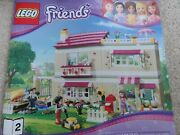 Lego Friends Olivia's House 3315 – 98 Complete Set And Instruction Book, No Box