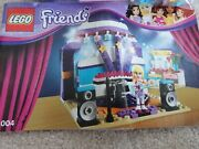 Lego Friends Rehearsal Stage Set 41004 – 99.9 Complete And Instruction Book