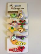 Hong Kong Disney Fruit Summer Duffy And Friends Hair Accessories Rubber And Clip