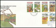 New Zealand. First Day Covers Stamp Collection. 32 Covers 1977-81. Original Com
