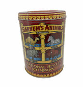 Retired Discontinued Design Barnums Animal Crackers Tin Container 2002 Caged New