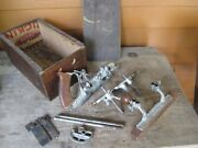 Antique Stanley No.45 Combination Plow And Beading Plane In Box W/ Cutters